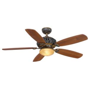 Hampton Bay Caffe Patina Ceiling Fan