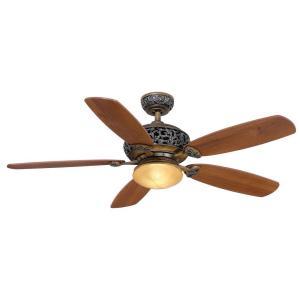 Hampton Bay Caffe Patina Ceiling Fan