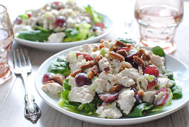 Cool Greek Yogurt Chicken Salad