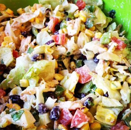Colourfulchickensalad